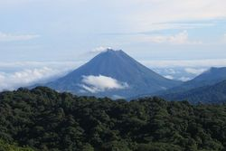 View of Arenal Volcano. Photo by Peter Andersen