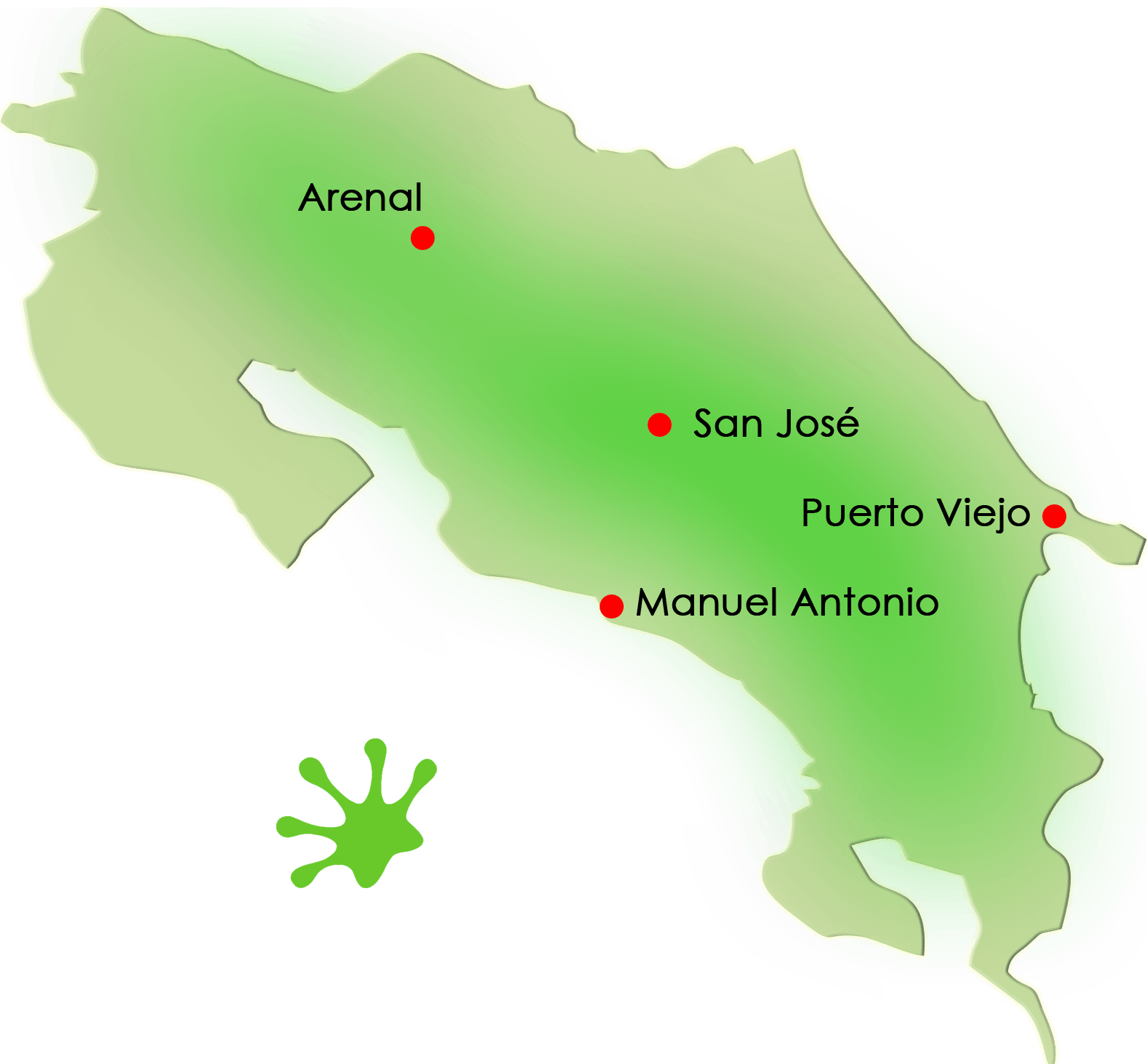 Gecko Trail | What to Do in Costa Rica - SJ-PV-AR-MA