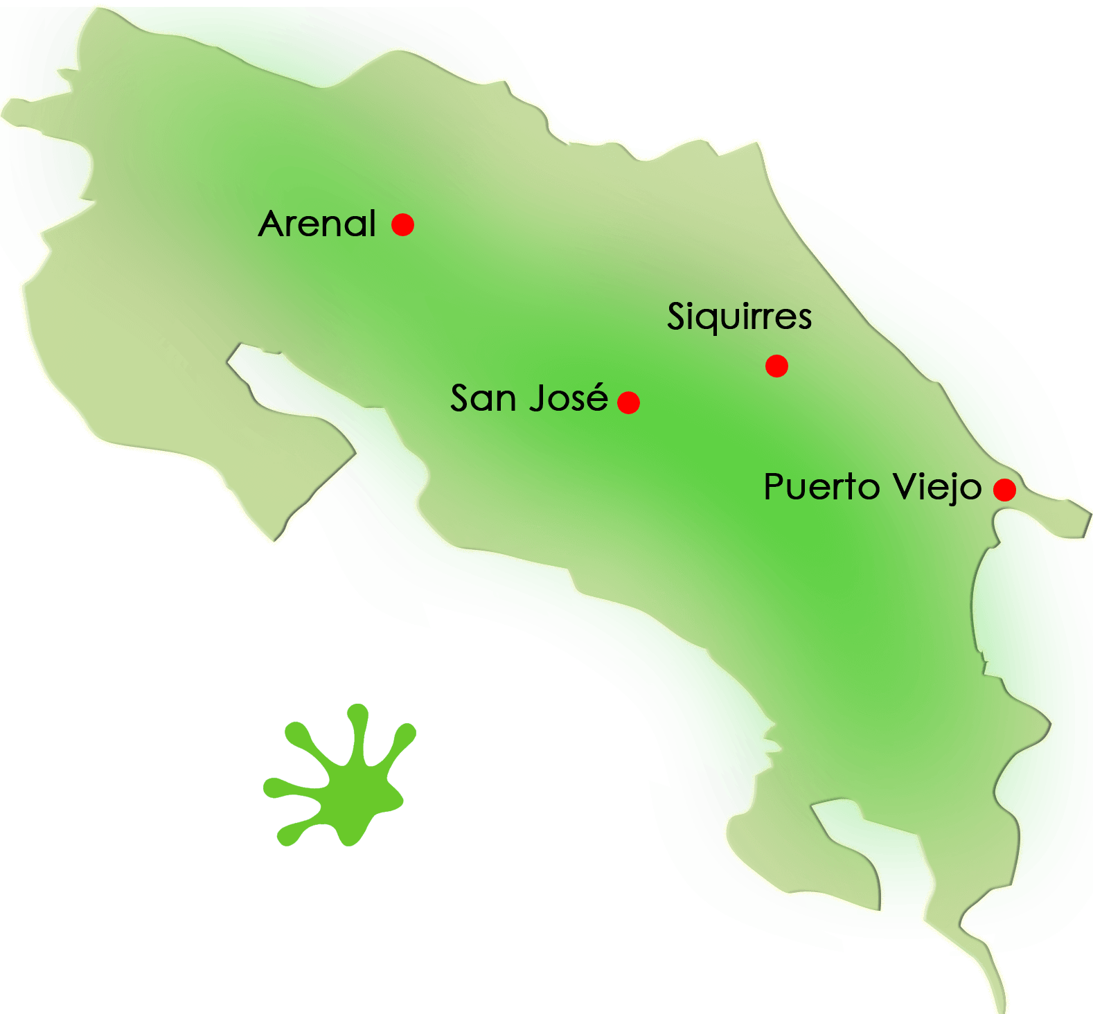Gecko Trail | What to Do in Costa Rica - SJ-PV-AR-SIQ