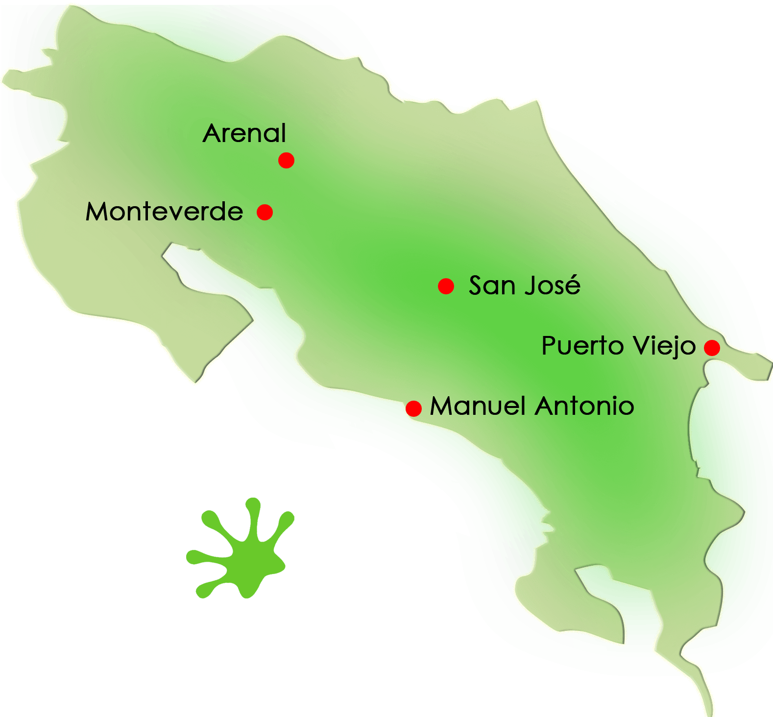 Gecko Trail | What to Do in Costa Rica - SJ-PV-MA-AR-MV