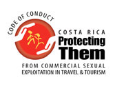 The project of the Code of Conduct is an initiative of the World Tourism Organization (WTO), ECPAT International and UNICEF developed by the countries of origin as well as the tourist destinations. It seeks the participation and commitment promise of the tourism industry to disesteem and sanction the commercial sexual exploitation of children and adolescents associated with travel and tourism. As part of the commitment of the tourist sector to contribute to the betterment of the quality of life in the population in general and the protection of the fundamental rights of childhood and adolescence in particular, in August 2003 the project of the Code of Conduct for the Protection of Children and Adolescents from Commercial Sexual Exploitation in Travel and Tourism in Costa Rica was started. Gecko Trail Costa Rica has signed the Code of Conduct and has a firm commitment to prevent sexual exploitation of children and adolescents in all our destinations within the country.