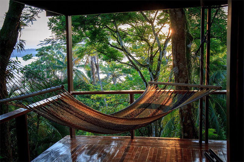 hammock view costa rica