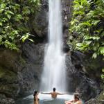 pacuare lodge waterfall