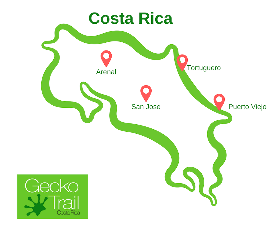 Gecko Trail | What to Do in Costa Rica - SJ-PV-AR-TOR
