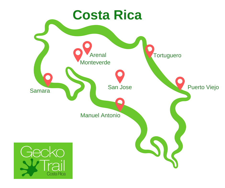 Gecko Trail | What to Do in Costa Rica - SJ-PV-TOR-AR-MV-SA